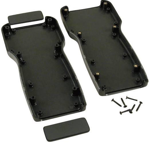 Kézi műszerdoboz ABS fekete 210 x 100 x 32 Hammond Electronics 1553TBK, 1db