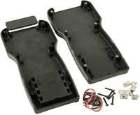 Kézi műszerdoboz ABS fekete 210 x 100 x 32 mm, Hammond Electronics 1553TBKBAT, (1553TBKBAT) Hammond Electronics