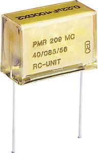 Rádiójel zavarszűrő kondenzátor, radiális 0,1 µF 250 V/AC 630 V/DC ± 20 %, RM 20.3 mm, Kemet PMR209MC6100M100R30 Kemet