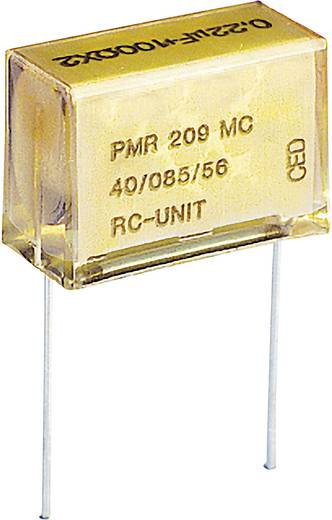 Kemet Rádiójel zavarszűrő kondenzátor, PMR PMR209MC6220M100R30 Raszterméret 20.3 mm 0.22 µF 250 V/AC/630 V/DC ± 20 %