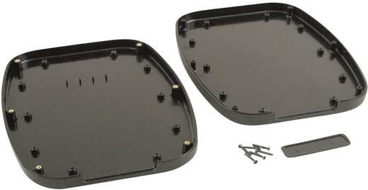 Kézi műszerdoboz ABS fekete 240 x 190 x 30 Hammond Electronics 1599TABLBK, 1db
