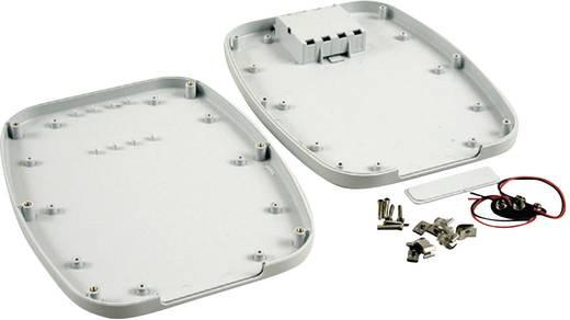 Kézi műszerdoboz ABS Fényes, szürke 240 x 190 x 30 Hammond Electronics 1599TABLGYBAT, 1db