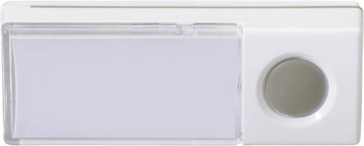 Vezeték nélküli csengő nyomógomb, adó, Heidemann 70880