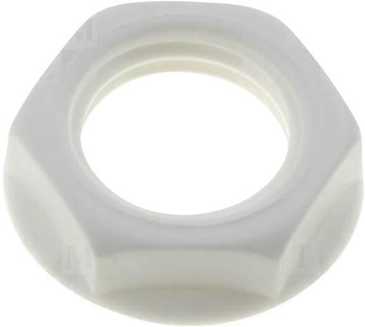 Csavar anya beépíthető jack aljzatokhoz fehér színben Cliff CL1409