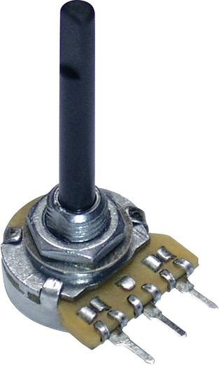 Potentiometer Service GmbH potenciométer, 16 mm, mono, lin 4,7kΩ, 0,25W, PC16BU 9604