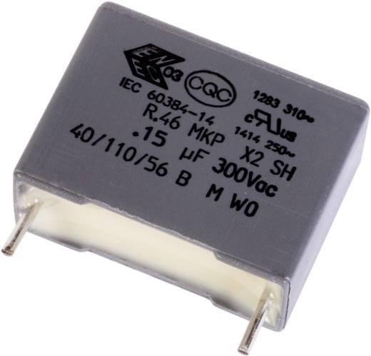 MKP fóliakondenzátor 1 µF 10 % raszterméret 22.5 mm Kemet X2 46K 1 db