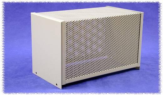 Hammond Electronics acél dobozok, lyukasztott, 1451-es sorozat 1451-10 acél (H x Sz x Ma) 203 x 102 x 132 mm, szürke