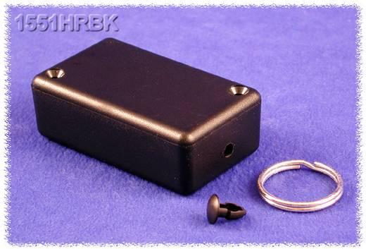Univerzális műszerdoboz ABS, fekete 80 x 40 x 20 Hammond Electronics 1551KRBK 1 db
