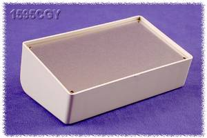 Hammond Electronics 1595CGY Pultos műszerdobozok 161 x 96 x 58 ABS Szürke 1 db Hammond Electronics