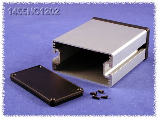 Hammond Electronics alumínium doboz, 1455NC sorozat 1455NC1602 alumínium (H x Sz x Ma) 160 x 103 x 53 mm, natúr