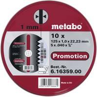 Metabo 616359000 Vágótárcsa, egyenes 125 mm 22.23 mm 10 db Metabo
