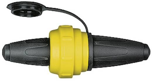 Szerelhető hálózati összekötő, gumi, 250 V, fekete/sárga, IP20, Schneider Electric 535451
