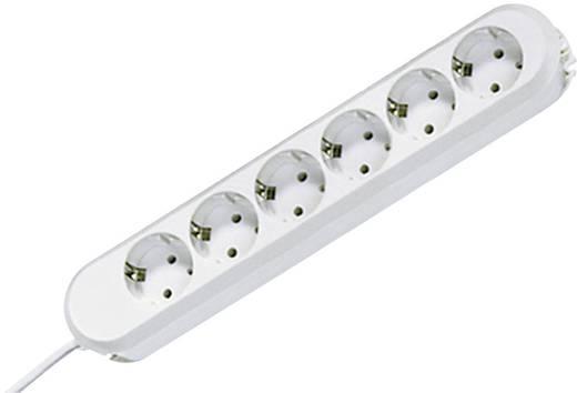 Hálózati elosztó 6 részes, fehér, Bachmann Electric 381.248K