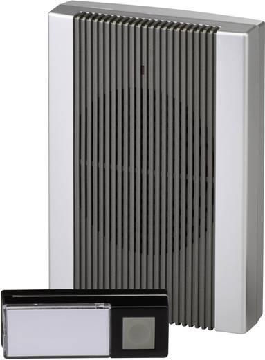 Vezeték nélküli ajtócsengő max.200m 433MHz antracit-ezüst színben Heidemann HX 70843