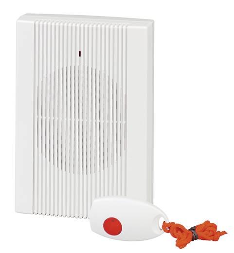 Vezeték nélküli ajtócsengő max.150m 433MHz fehér színben Heidemann HX 70844