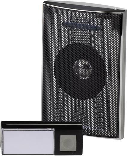 Vezeték nélküli ajtócsengő max.200m 433MHz ezüst-fekete színben Heidemann HX 70846