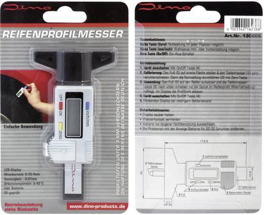 Digitális abroncsprofil mérő, autóhoz, teherautóhoz, motorkerékpárhoz, stb.
