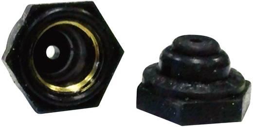Fél tömítő sapka, fekete, APM Hexseal N5032B 17 BLKOX