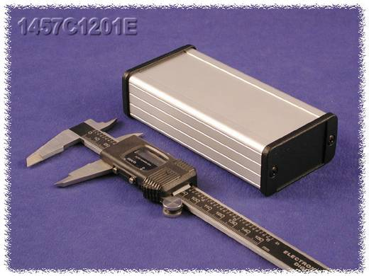 Hammond Electronics alumínium dobozok, 1457-es sorozat 1457C1201EBK alumínium (H x Sz x Ma) 120 x 59 x 31 mm, fekete