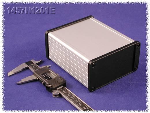 Hammond Electronics alumínium dobozok, 1457-es sorozat 1457N1202EBK alumínium (H x Sz x Ma) 120 x 104 x 55 mm, fekete