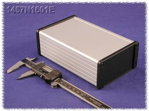 Hammond Electronics alumínium doboz, szerelő peremmel, 1457N1602EBK, 160 x 104 x 55 mm, fekete
