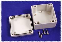 Hammond Electronics számítógép dobozok, 1554-es sorozat 1554E2GY polikarbonát (H x Sz x Ma) 90 x 90 x 60 mm, szürke Hammond Electronics
