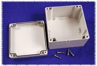 Hammond Electronics számítógép dobozok, 1554-es sorozat 1554P2GY polikarbonát (H x Sz x Ma) 120 x 120 x 80 mm, szürke Hammond Electronics