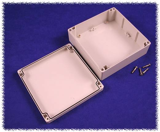 Hammond Electronics számítógép dobozok, 1554-es sorozat 1554R2GY polikarbonát (H x Sz x Ma) 160 x 160 x 60 mm, szürke