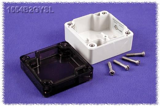 Hammond Electronics számítógép dobozok, 1554-es sorozat 1554B2GYSL polikarbonát (H x Sz x Ma) 65 x 65 x 40 mm, szürke