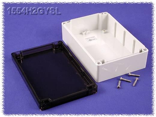 Hammond Electronics számítógép dobozok, 1554-es sorozat 1554H2GYSL polikarbonát (H x Sz x Ma) 180 x 120 x 60 mm, szürke
