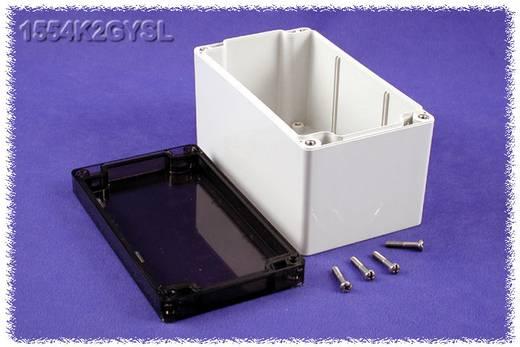 Hammond Electronics számítógép dobozok, 1554-es sorozat 1554K2GYSL polikarbonát (H x Sz x Ma) 160 x 90 x 90 mm, szürke