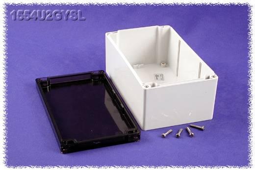 Hammond Electronics számítógép dobozok, 1554-es sorozat 1554U2GYSL polikarbonát (H x Sz x Ma) 200 x 120 x 90 mm, szürke