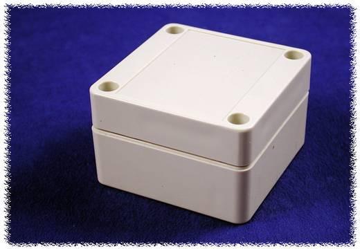 Univerzális műanyag műszerház Hammond Electronics 1555B2GY polikarbonát (H x Sz x Ma) 65 x 65 x 40 mm, szürke