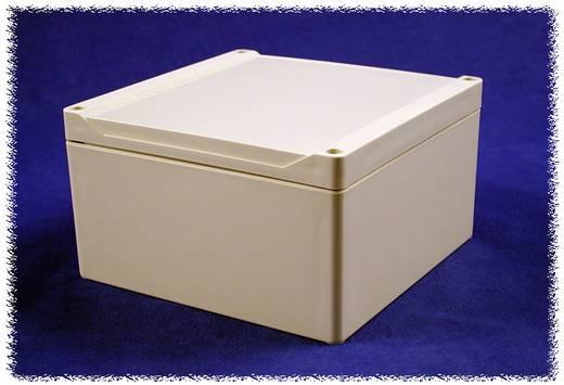 Univerzális műanyag műszerház Hammond Electronics 1555SGY ABS (H x Sz x Ma) 160 x 160 x 90 mm, szürke