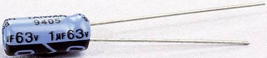 Szubminiatűr elektrolit kondenzátor, álló elkó, 1μF