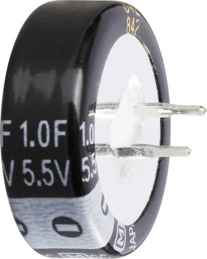 Gold Cap elko kondenzátor 5,5 V 0,47 F, raszter: 5 mm