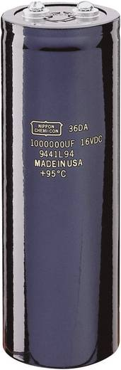Elektrolit kondenzátor Snap-In 1 F 16 V/DC 20 % Ø 76,2 x 219 mm