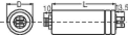 MKP motorindító kondenzátor kábellel, 200 mm, 2 µF 450 V/AC ±10 %