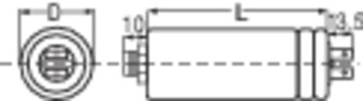 MKP motorindító kondenzátor kábellel, 200 mm, 4 µF 450 V/AC ±10 %