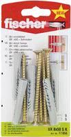Fali tipli, dübel Fischer UX 8 x 50 SK 50 mm 8 mm 77856 5 db Fischer