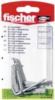Fali tipli, dübel Fischer UX 6 x 35 WH K 35 mm 6 mm 94258 4 db (94258) Fischer
