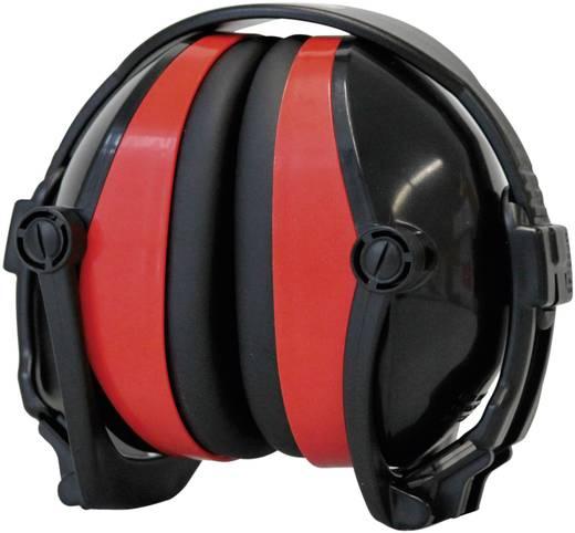 Összecsukható fejpántos hallásvédő fültok, zajcsillapító fülvédő -27dB B-Safety BR 332010 ClassicLine