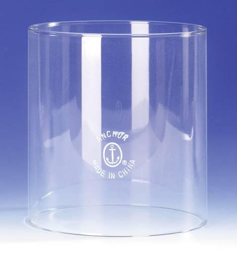 Brüder Mannesmann Erősfényű petróleum lámpához való üveg cilinder, rendelési szám: 46 21 09. Glas