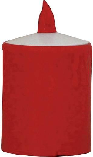LED-es gyertya, mécses, piros