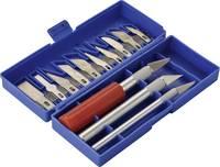 Szike készlet, fafaragó késkészlet 16 részes, Basetech 482781 Basetech