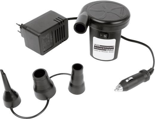 Gumimatrac pumpa 12V/230V szivargyújtós, Mannesmann
