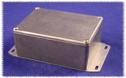 Hammond Electronics alumínium öntvény dobozok peremmel, 1590KF 125 x 125 x 75 mm, natúr