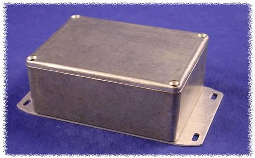 Hammond Electronics alumínium öntvény dobozok peremmel, 1590QFBK 120 x 120 x 34 mm, fekete
