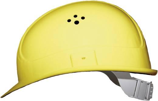 Munkavédelmi sisak, fejvédő 4 pontos EN 397 sárga Voss Helme 2680 PE