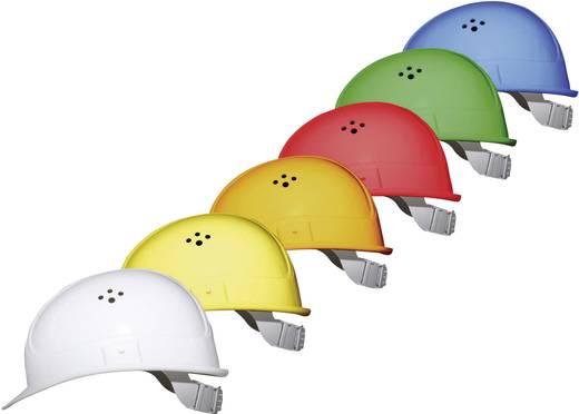 Munkavédelmi sisak, fejvédő 4 pontos EN 397 narancs színű Voss Helme 2680 PE